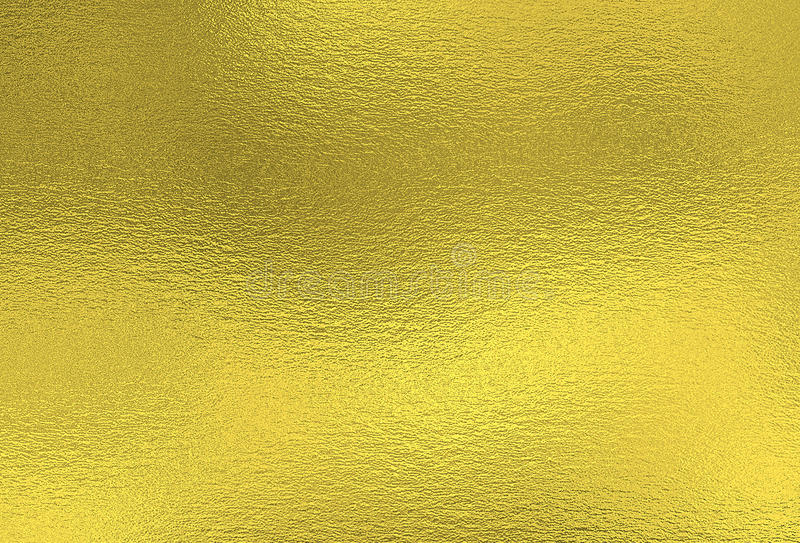 Shiny Gold Foil Background Sheet Of Metal Decorative Texture