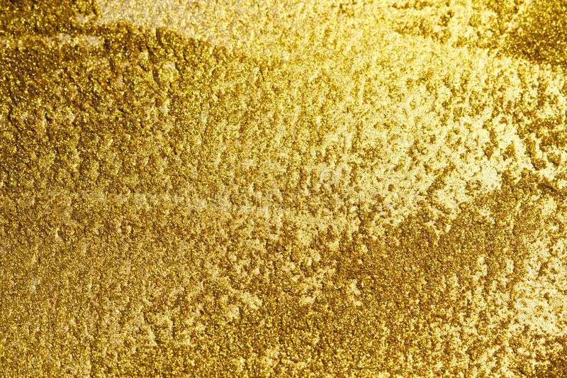 Gold background or texture and gradients shadow.  stock images