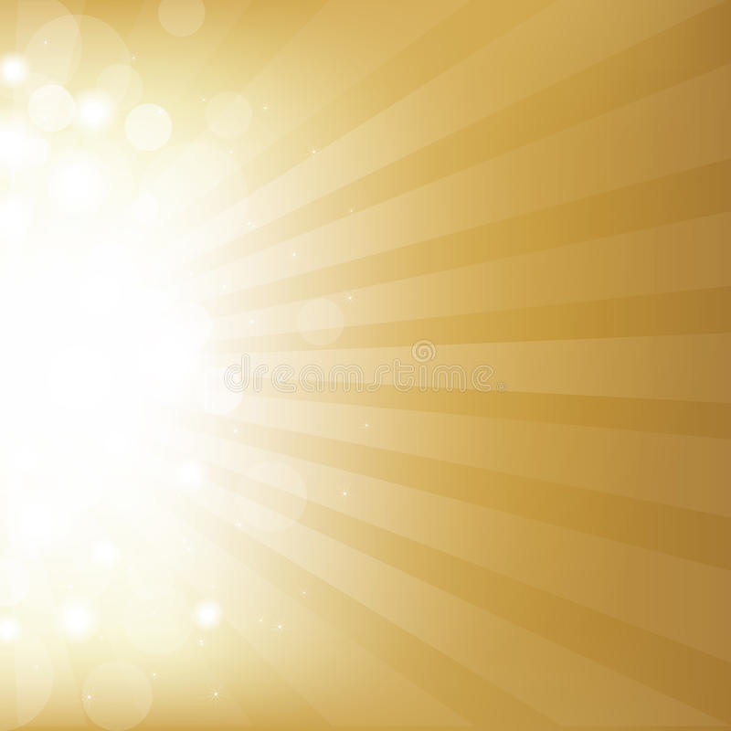 Free Gold Background With Star Stock Images - 22654174