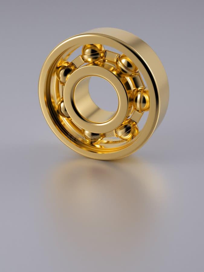 Gold Ball Bearing Royalty Free Stock Photos
