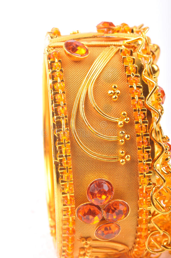 Gold Bangle Royalty Free Stock Image
