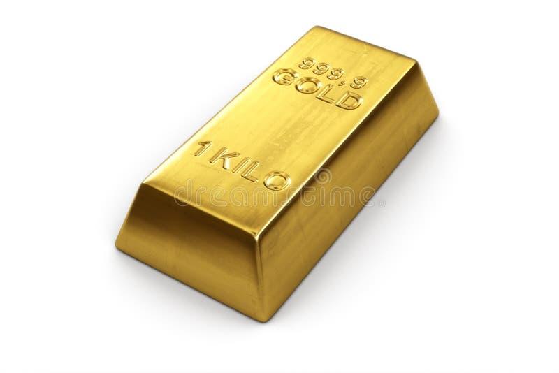 Gold bar stock illustration