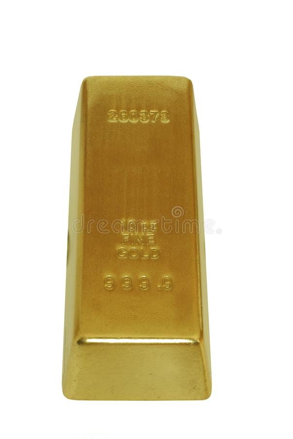 Gold bar royalty free stock photo
