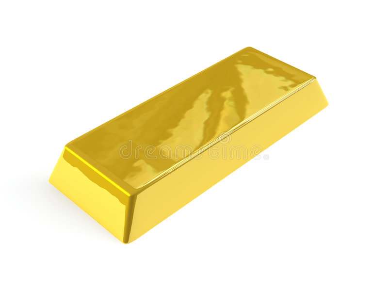 Download Gold Bar stock illustration. Image of noble, gold, luxury - 2356071