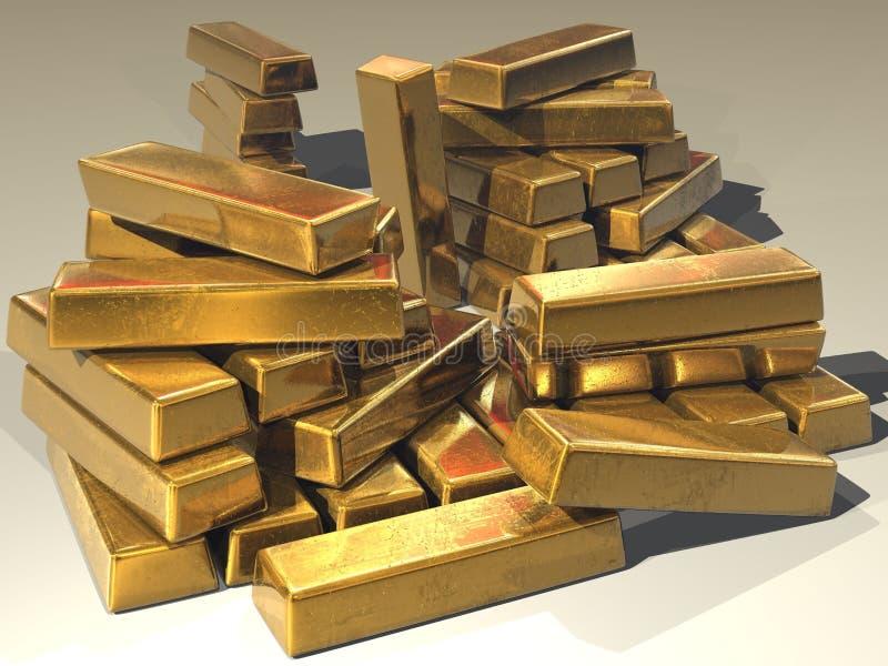 Gold Bars Free Public Domain Cc0 Image