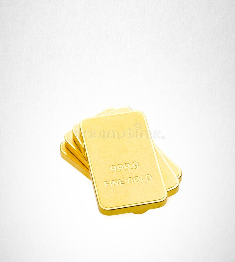 Gold or Gold bars on the background. Gold or Gold bars on the background stock photo