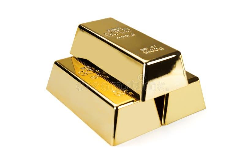 Gold bars and Financial concept. Studio shots royalty free stock photos