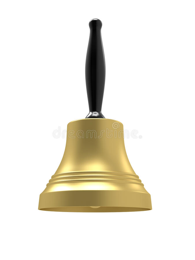 Download Gold Bell Royalty Free Stock Photography - Image: 17431967