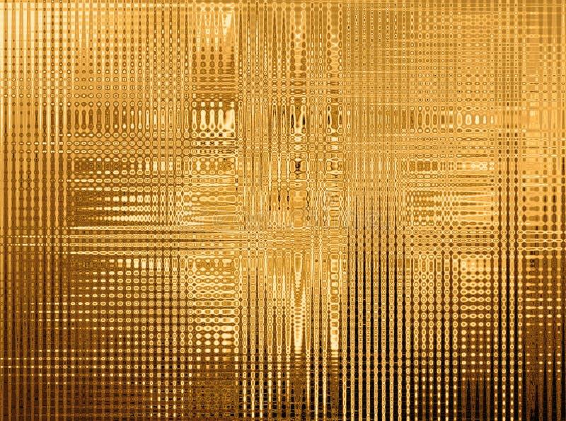 Gold, Beschaffenheit stock abbildung