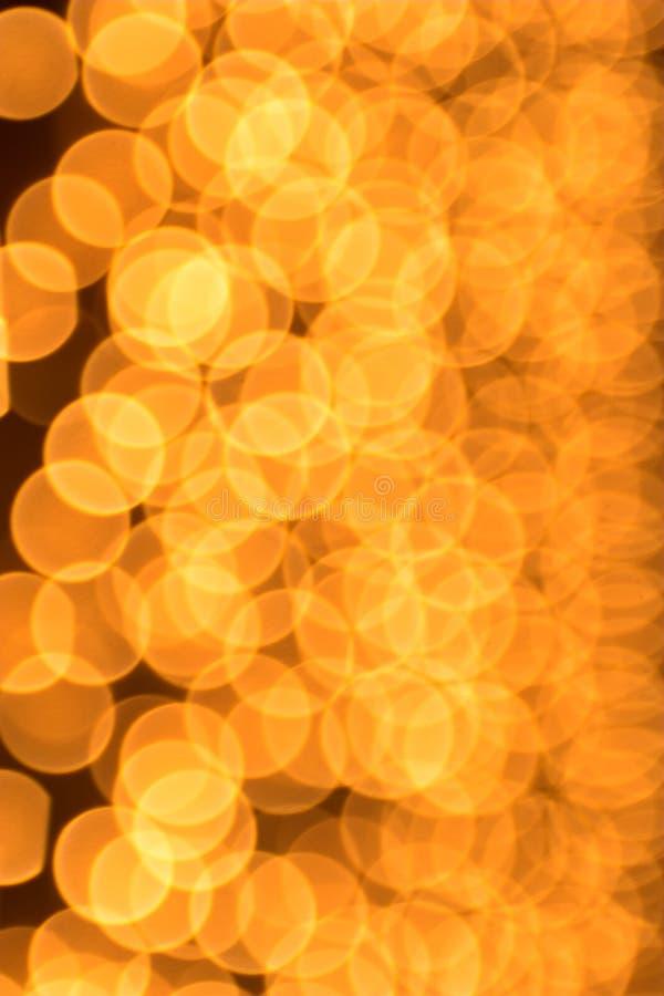 Gold beschmutzt bokeh stockbild