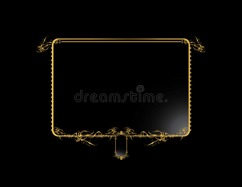 Download Gold Black Elegant Background 3 Stock Vector - Image: 7664000