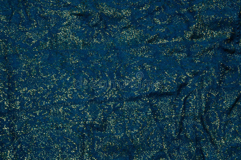 Download Gold And Blue Fabric Background Stock Photo - Image: 43605669