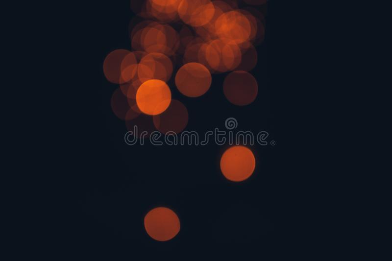 Gold bokeh abstract light backgrounds.  royalty free stock photos