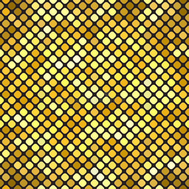 Gold bokeh pattern background. Luxury gold pattern. stock illustration