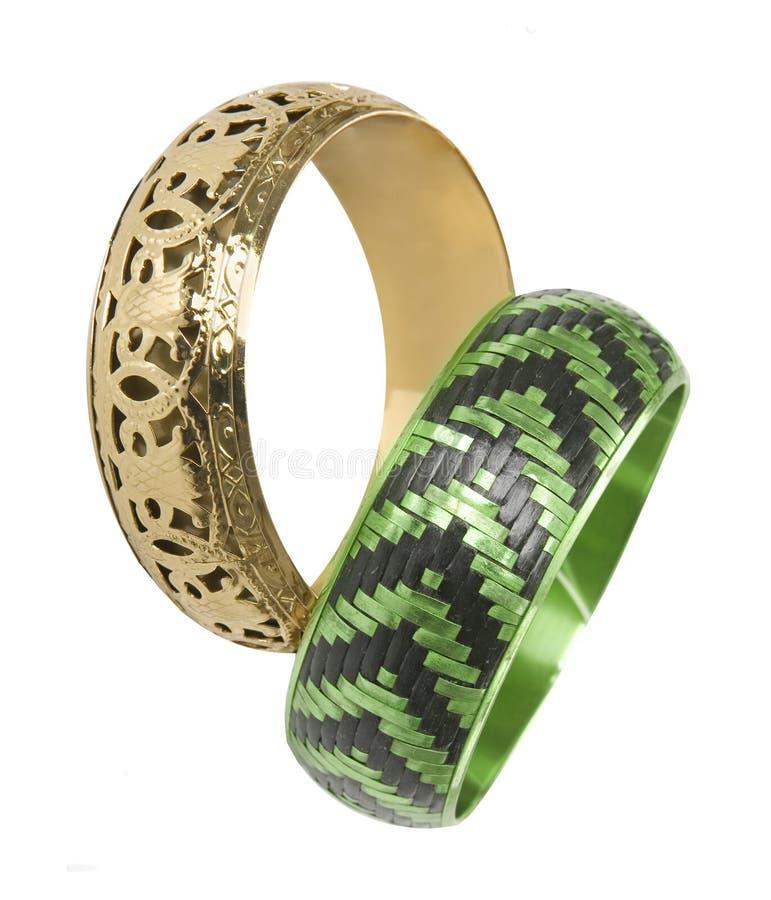 Free Gold Bracelet Royalty Free Stock Photos - 8754048