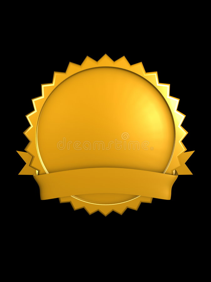 Gold, Brand Royalty Free Stock Images