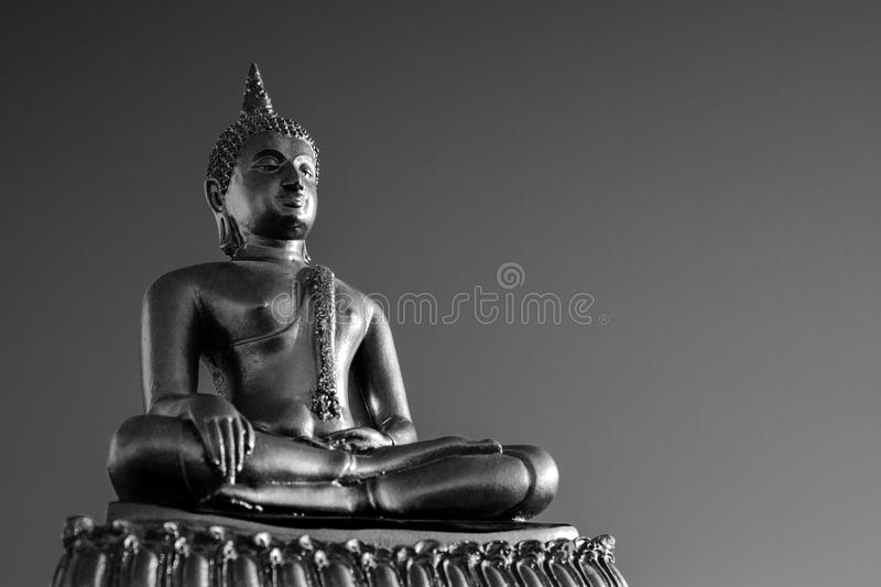 Gold Buddha Statue royalty free stock images