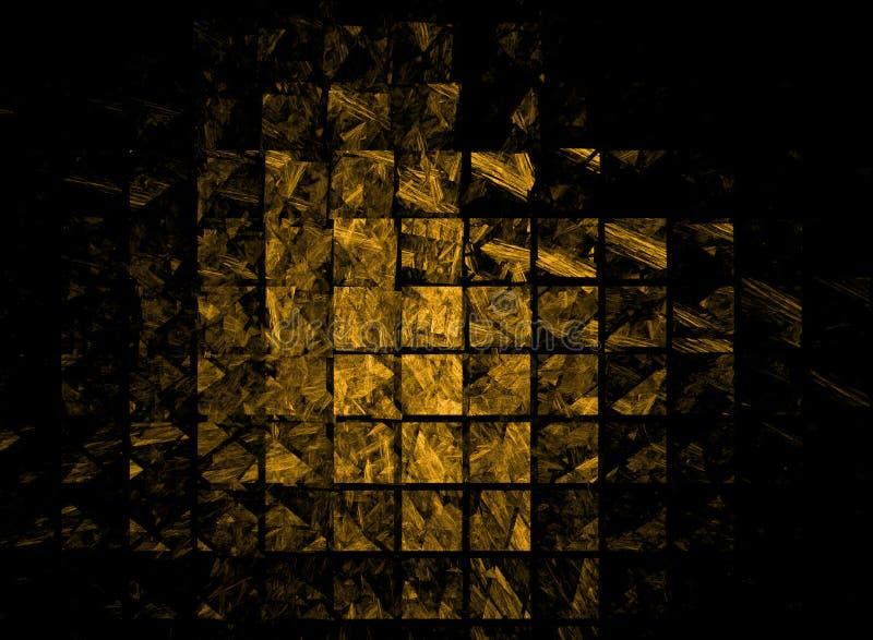 Gold bullion abstract. Gold, bullion, abstract geometrical background vector illustration