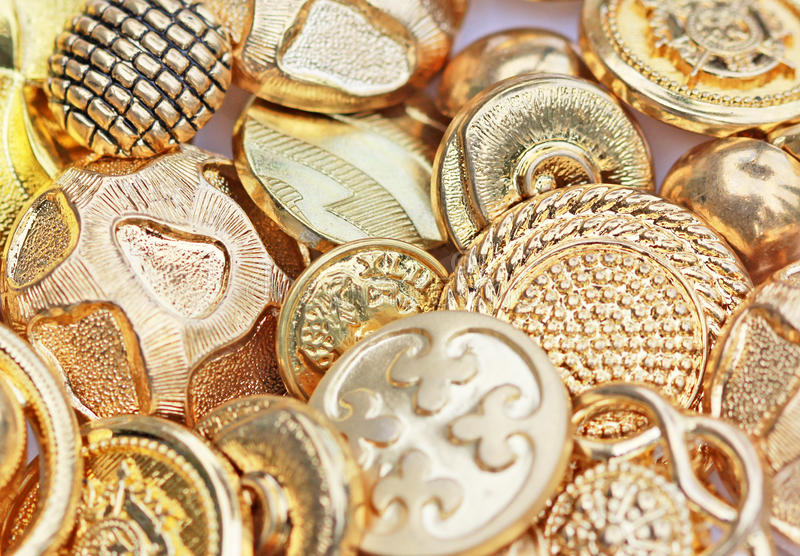 Download Gold Buttons Stock Photography - Image: 13801172