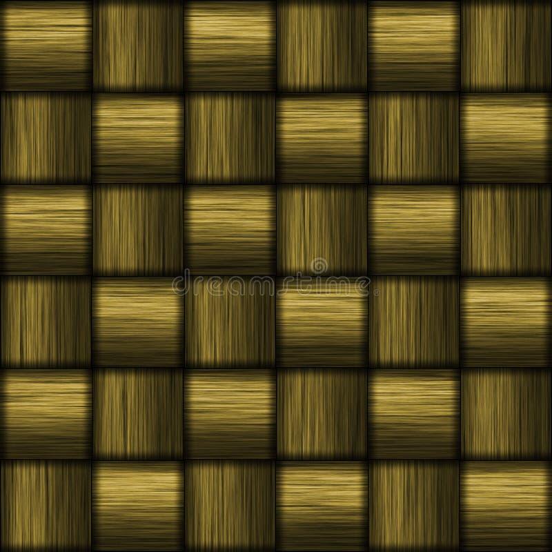 Gold Carbon Fiber royalty free illustration