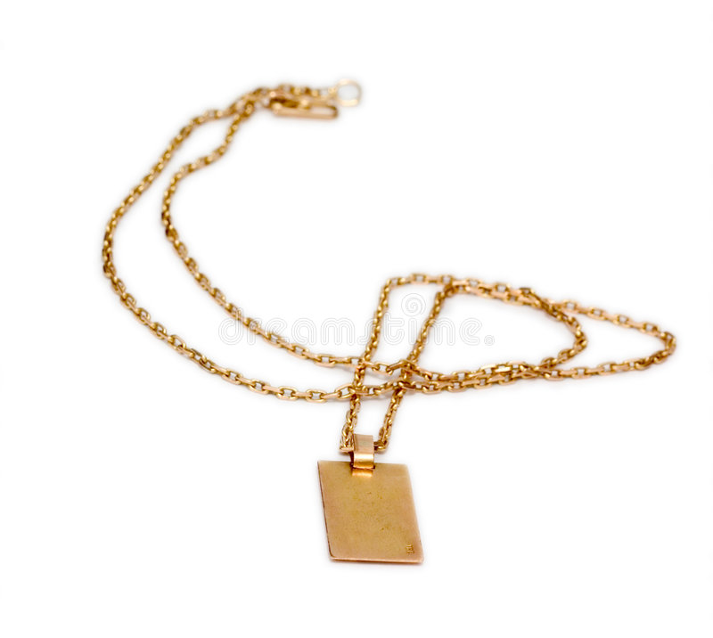 Download Gold Chain stock photo. Image of medallion, necklace, shine - 156992