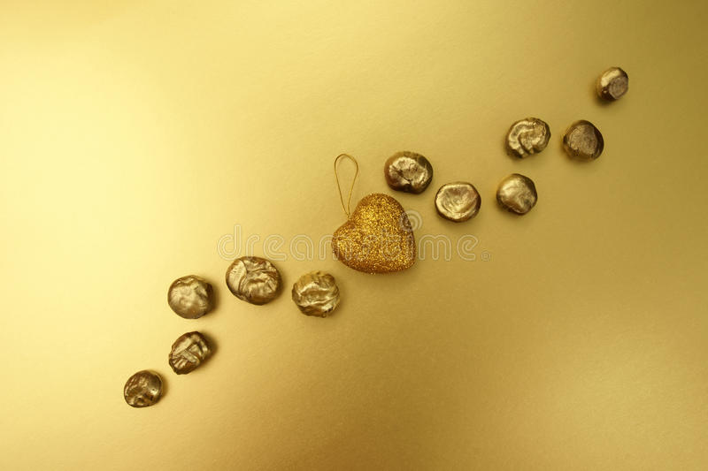 Download Gold chestnuts. stock photo. Image of registration, colour - 12273628