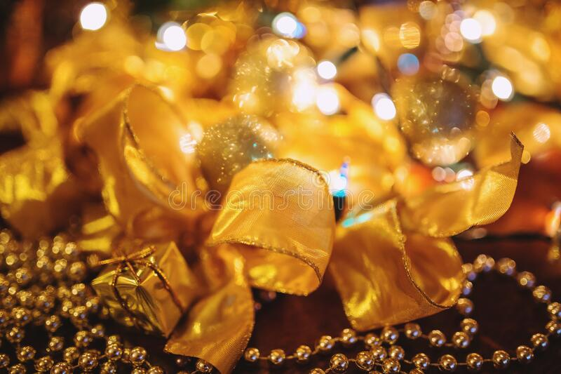 Gold Christmas Decoration Free Public Domain Cc0 Image