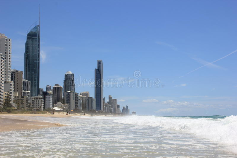 Gold Coast foto de stock royalty free