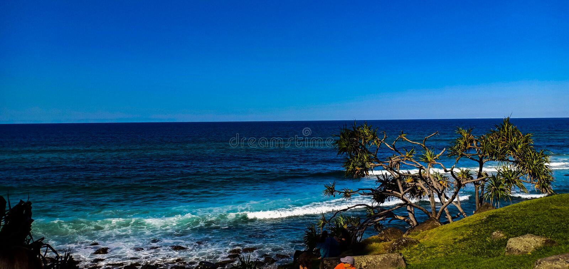 Gold coast Australia royalty free stock photos