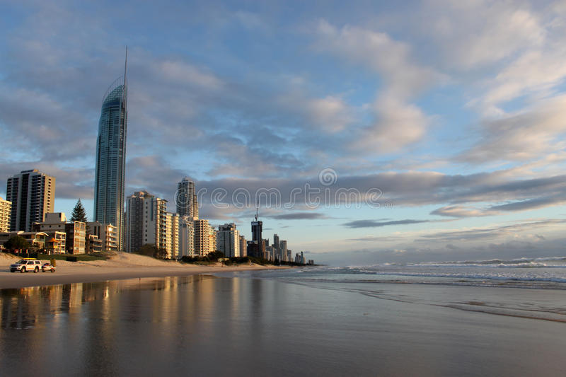 Gold Coast, Australia Venue for 2018 Commonwealth royalty free stock photography