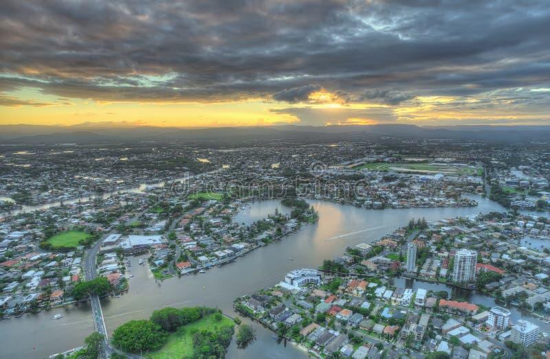 Gold Coast Australie photographie stock libre de droits