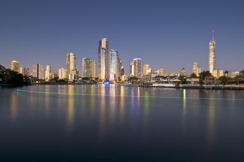 Download Gold Coast Cityscape Stock Image - Image: 15258401