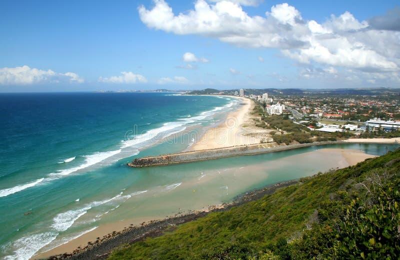 Gold Coast do sul fotografia de stock