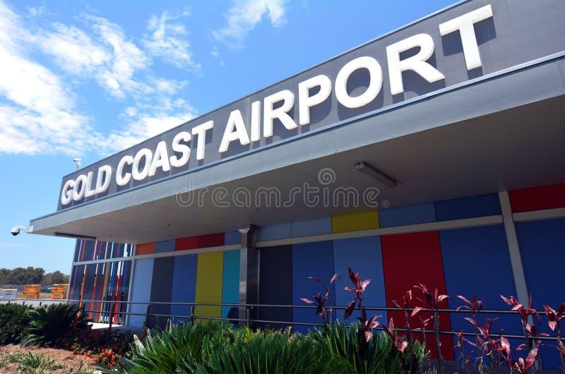 Gold Coast International Airpor royaltyfria bilder