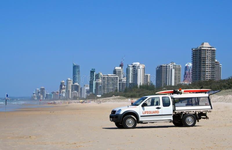 Download Gold Coast Lifeguard stock photo. Image of paradise, horizon - 4827022