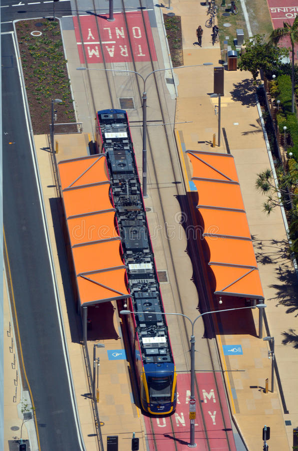 Free Gold Coast Light Rail G -Queensland Australia Royalty Free Stock Photos - 47583838