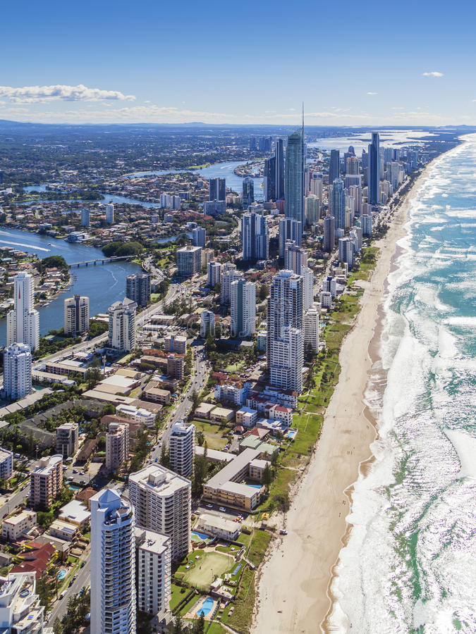 Gold Coast, Queensland, Αυστραλία στοκ εικόνες με δικαίωμα ελεύθερης χρήσης