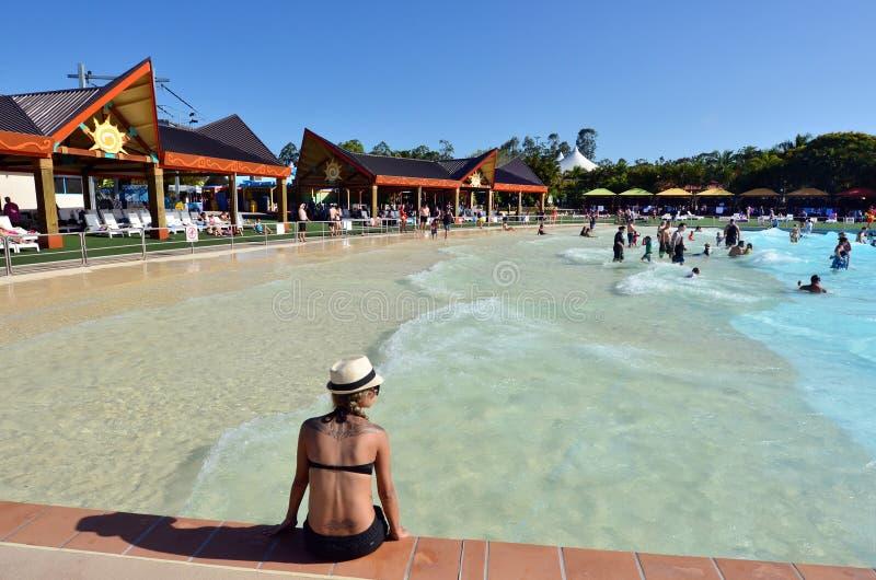 Gold Coast Queensland Αυστραλία Wet'n'Wild στοκ εικόνα με δικαίωμα ελεύθερης χρήσης