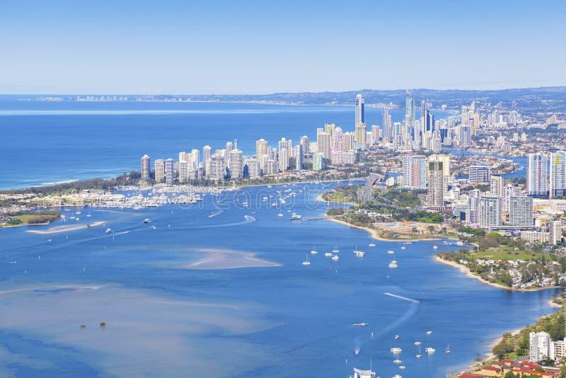 Gold Coast, Queensland, Australia fotos de archivo libres de regalías