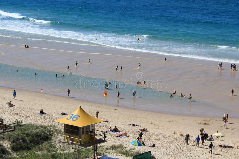 Tower No 36 Surfer`s Paradise SLSC royalty free stock images