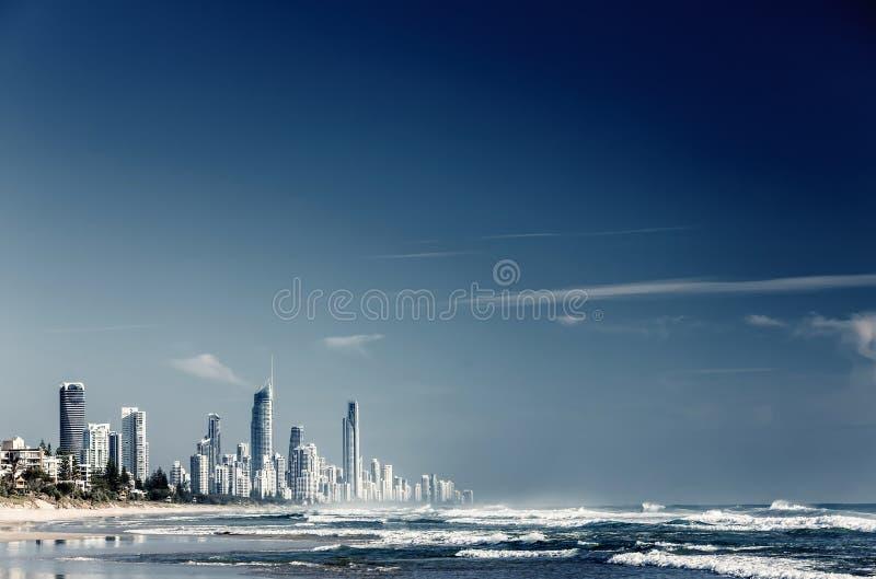 Gold Coast Queensland, Australien arkivfoton