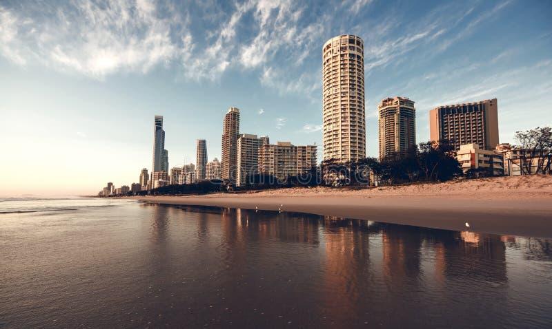 Gold Coast Queensland, Australien arkivbilder