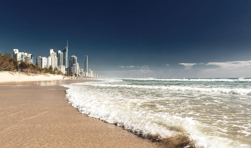 Gold Coast Queensland, Australien royaltyfri foto