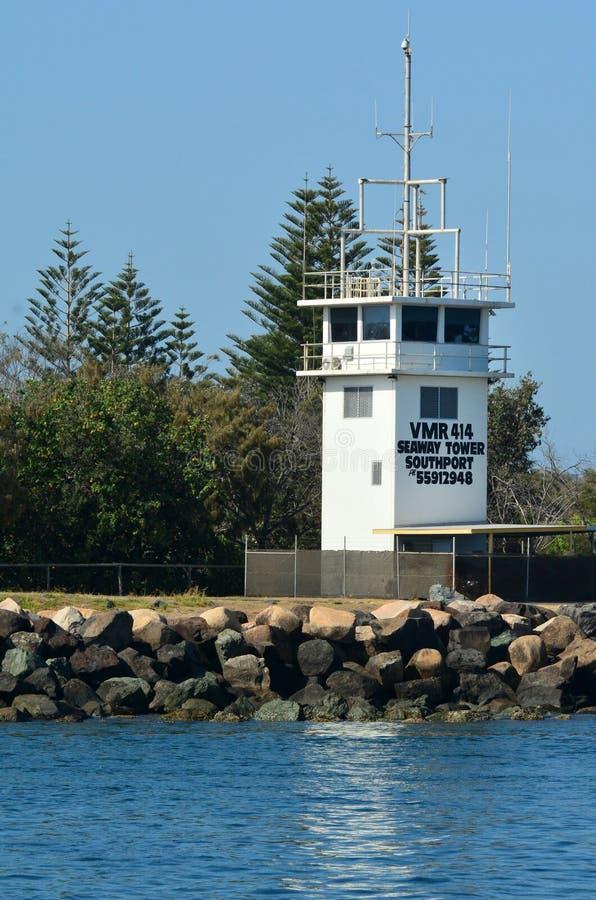 Gold Coast sjöväg - Queensland Australien arkivfoto