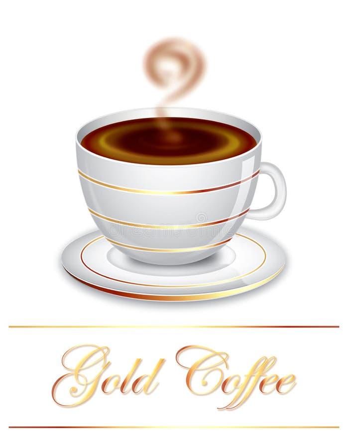 Gold Coffee Stock Photos