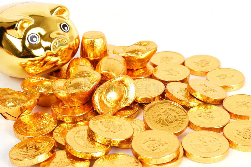 Download Gold coin stock illustration. Image of banking, money - 12753594