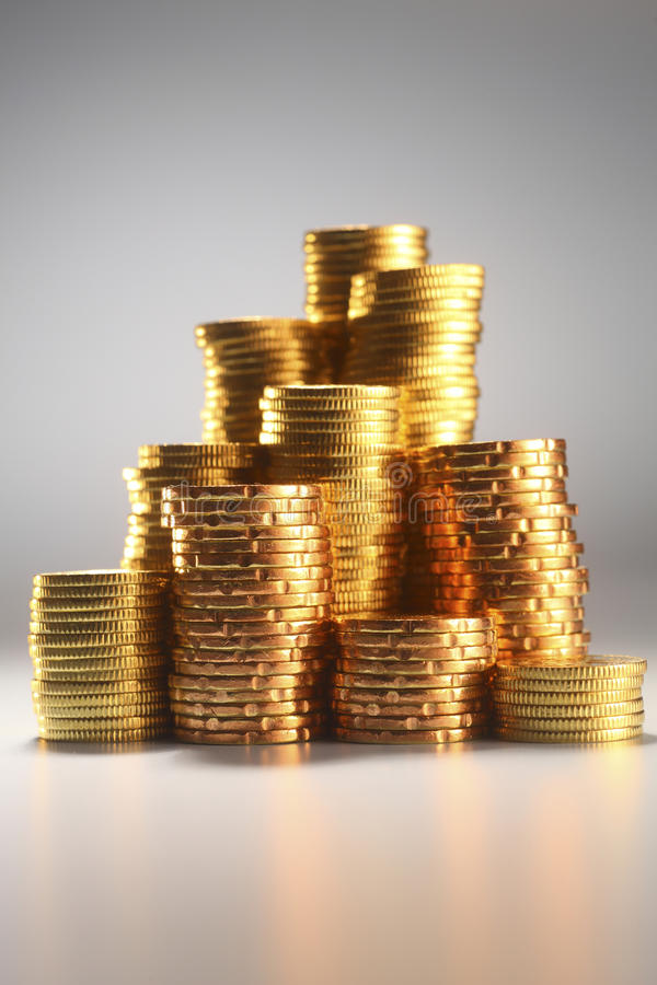 Download Gold coin stock image. Image of color, indoors, currency - 25876565
