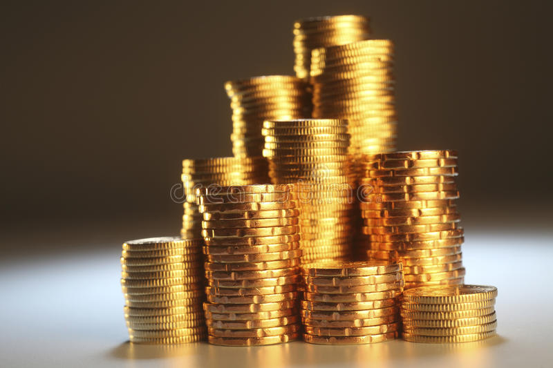 Download Gold coin stock photo. Image of finance, people, growth - 26238522