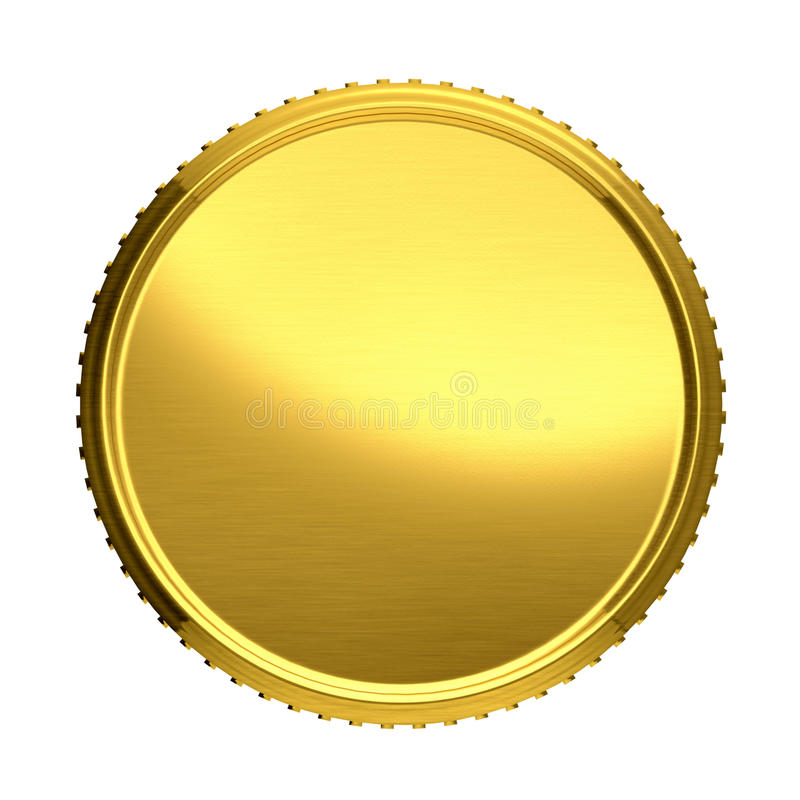 Free Gold Coin. Stock Image - 46837391