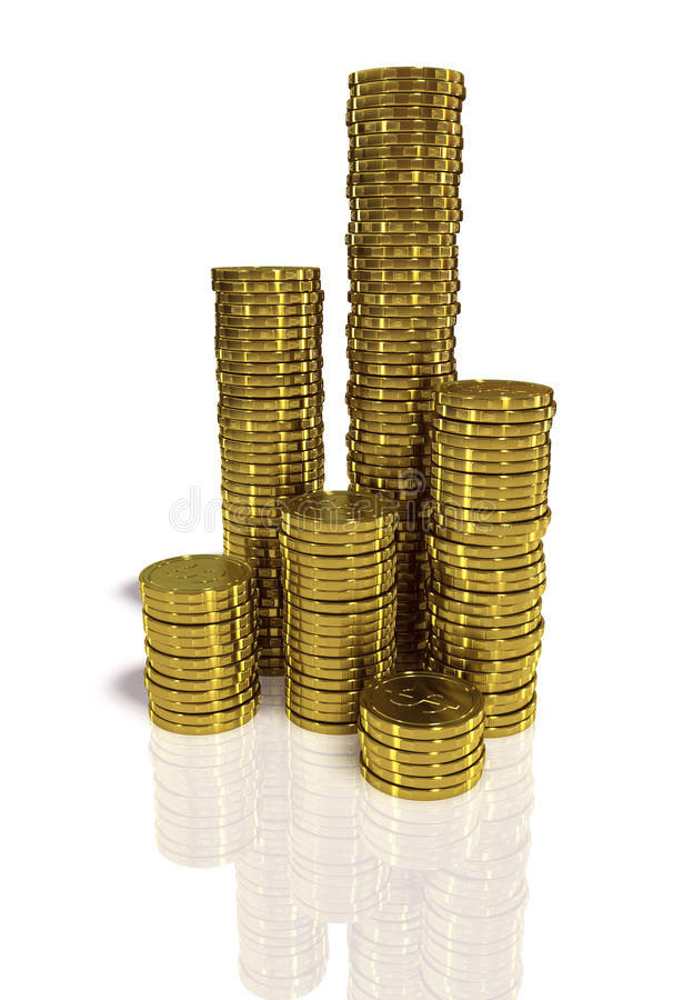 Download Gold Coins Royalty Free Stock Photos - Image: 10288258